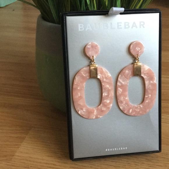 BaubleBar Jewelry - Pink Marble Baublebar Earrings